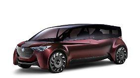 """Die Studie """"Fine-Comfort Ride"""" wurde im vergangenen Jahr auf der Tokio Auto Show vorgestellt."""