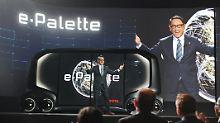 """Minibus, Spielhalle, Büro?: Toyota erfindet die """"Palette"""" neu"""