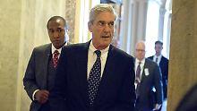 Ermittlungen in Russland-Affäre: Mueller will sich Präsident Trump vorknöpfen