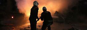 Offensiven vor Sotschi-Konferenz: Assad greift nach dem Rest von Syrien