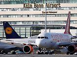 Der Tag: Flugverkehr am Airport Köln-Bonn wieder gestartet