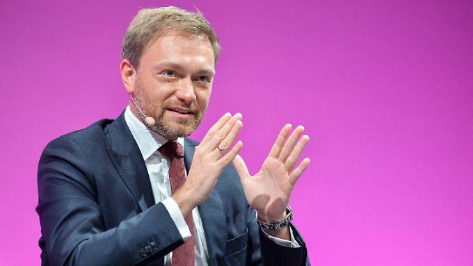 "FDP-Chef Christian Lindner will die ""Methode Merkel"" entlarvt haben."