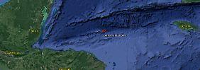 Das Zentrum des Erdbebens lag etwa 250 Kilometer nördlich von Puerto Lempira.
