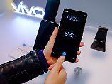 Fingersensor unterm Display: Das ist das Smartphone-Highlight der CES