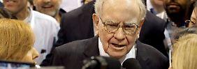 """""""Unglaubliches Unternehmen"""": Buffett kauft munter Apple-Aktien"""