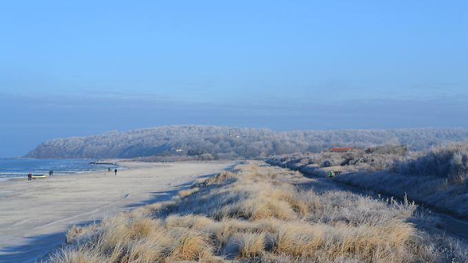 Natur pur und nur wenige Touristen: Das ist Hiddensee im Winter.