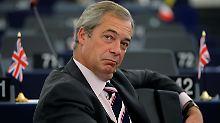 Brexit-Vorkämpfer überrascht: Farage würde ein neues Referendum billigen