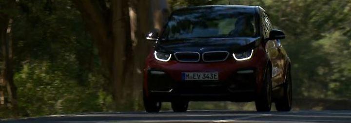 i3s wird breiter, tiefer, dynamischer: BMWs Elektroflitzer legt Langweiler-Image ab