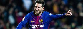 Hinspiel-Patzer ausgebügelt: FC Barcelona feiert Pokal-Schützenfest