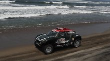 Der Sport-Tag: Rallye Dakar: Fahrer versinkt in Monsterwelle