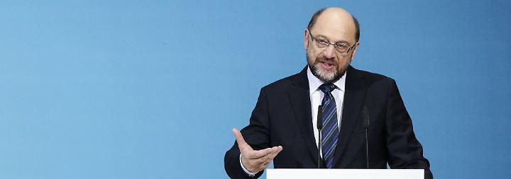 """Martin Schulz zu Sondierungen: """"Wir haben hervorragende Ergebnisse erzielt"""""""