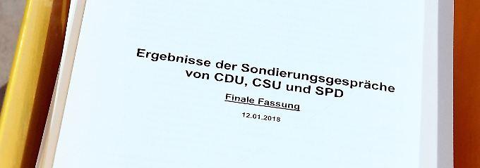 Union und SPD erzielen Durchbruch: Das sind die Ergebnisse der Sondierungen