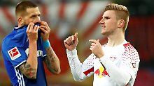 Werner bringt die Wende: RB Leipzig beendet Schalkes Erfolgsserie