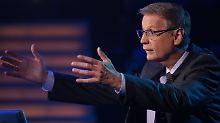 """Bei der aktuellen Ausgabe von """"Wer wird Millionär?"""" stellt Moderator Günther Jauch eine Frage zwei Mal."""