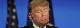 """Reaktion auf """"Drecksloch""""-Affäre: Trump: """"Bin die am wenigsten rassistische Person"""""""