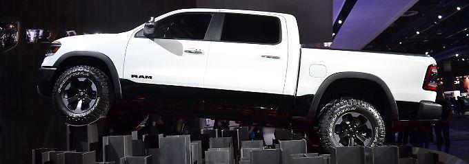 Der Dodge RAM ist einer von drei Pick-ups die in den USA den Ton angeben.