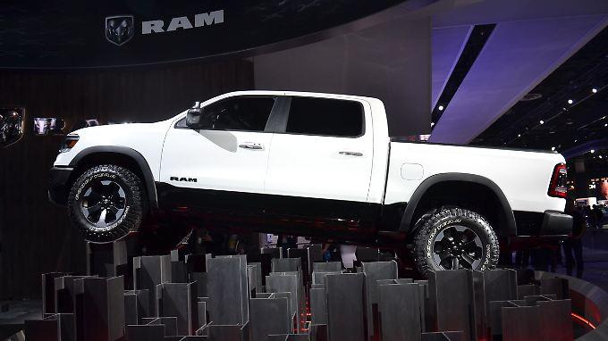 Der Dodge RAM ist einer von drei Pick-ups, die in den USA den Ton angeben.