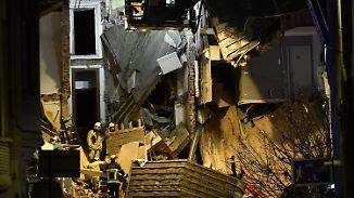 Tote und Schwerverletzte: Wohnhäuser stürzen nach Explosion in Antwerpen ein