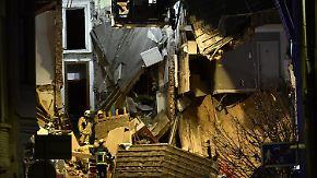 Zwei Tote und mehrere Verletzte: Wohnhäuser stürzen nach Explosion in Antwerpen ein