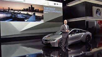 Mit Schwung auf Amerikas Straßen: Deutsche Autobauer zeigen sich in Detroit angriffslustig