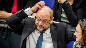 Schwierig, die Lage der SPD.