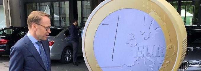Nächstes Jahr wird bei der EZB der Chefsessel frei. Die Spekulationen über die Nachfolge von Mario Draghi beginnen. Ein Name taucht immer wieder auf: Jens Weidmann.