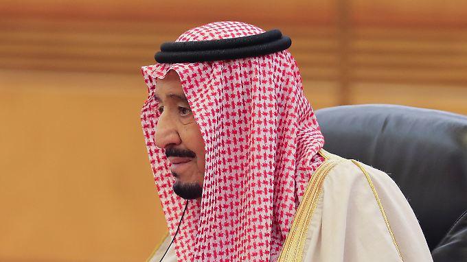 Ein Urteil müsste König Salman noch unterzeichnen.
