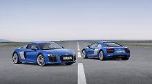 De Audi R8 gehört zu den letzten Sportwagen mit Saugmotor.