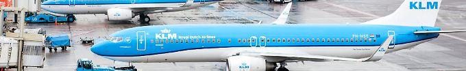 Der Tag: 20:46 KLM streicht für Donnerstag 220 Flüge