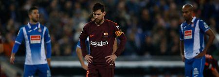 Hatte nicht viel zu lachen: Lionel Messi