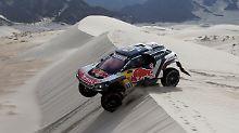 Der Sport-Tag: Sainz behauptet sich an der Spitze der Rallye Dakar