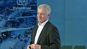 Kritik von Thyssenkrupp-Aktionären: Bei der Hauptversammlung steht Hiesinger unter Druck