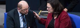 Letzte Appelle vor Parteitag: Schulz mobilisiert in Brief für GroKo