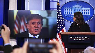 """Donald Trumps Lieblingsfeind: Weißes Haus führt """"Krieg"""" gegen die freie Presse"""