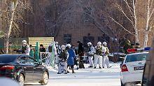 Mehrere Verletzte in Sibirien: Teenager geht mit Axt auf Mitschüler los