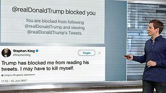 n-tv Netzreporter: @realDonaldTrump zwitschert ohne Unterlass
