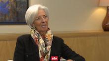 """Interview mit IWF-Chefin Lagarde: """"Trumps erstes Jahr war ziemlich hektisch"""""""