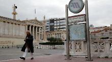 Positiv überrascht: Athen nähert sich der nächsten Hilfszahlung