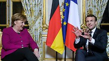 Mehr Tempo: Merkel will Eurozone als Avantgarde