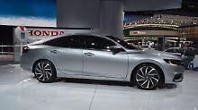 Der Honda Insight wäre auch etwas für den deutschen Markt.