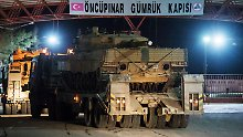 Angriff auf kurdische Milizen: Türkei-Verbündete attackieren offenbar Afrin
