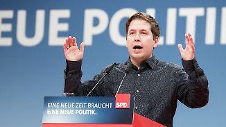"""Kühnert wettert gegen neue GroKo: """"Die Union schreibt seit Jahren bei uns an"""""""