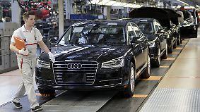 Illegale Abschalteinrichtungen: Audi muss zehntausende Fahrzeuge zurückrufen