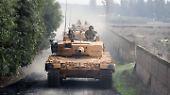 Türkei geht gegen Kurden vor: Diese Bilder zeigen deutsche Panzer in Syrien