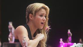Promi-News des Tages: Shakira soll Millionen an Steuern hinterzogen haben
