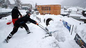 Weltwirtschaftsgipfel mit Wettersorgen: Viel los in Davos