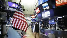 """Dow Jones auf Rekordhoch: """"Shutdown""""-Ende beflügelt US-Börsen"""