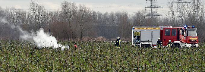 Vier Tote in Baden-Württemberg: Flugzeug kollidiert mit Rettungshubschrauber