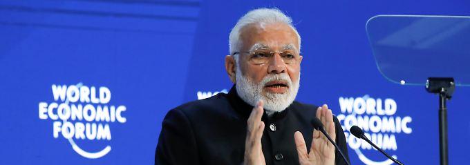 Plädoyers gegen Protektionismus: Weltwirtschaftsforum beginnt mit Warnungen