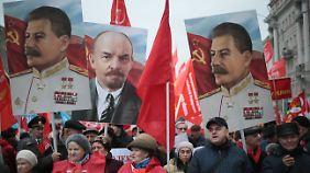 Stalin wird von vielen Russen verehrt.